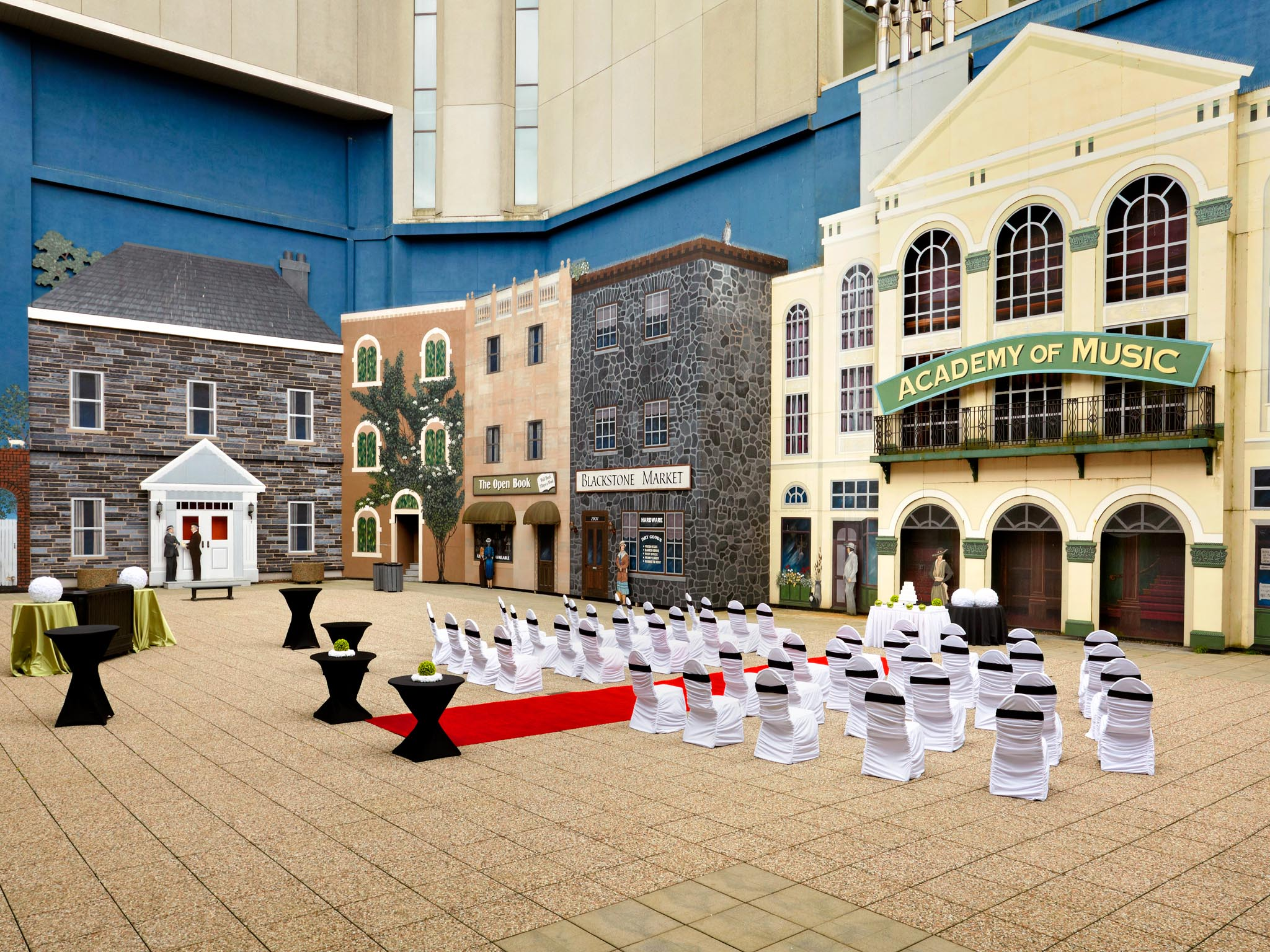 Wedding Venues Halifax - Courtyard